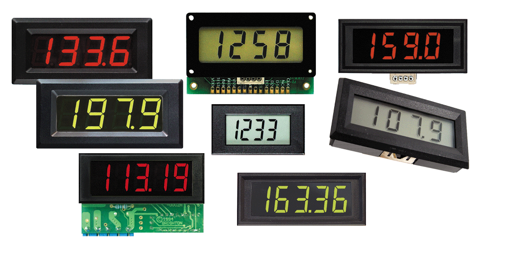 Panel Meter - digital voltmeters & ammeters