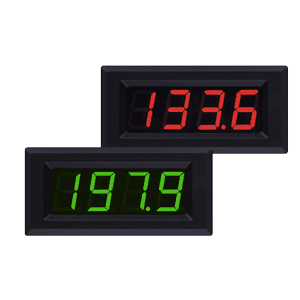 Panel meter - LED voltmeters