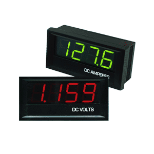 Digital panel meter - big digit LED